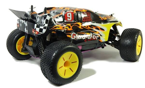 Трагги с ДВС HSP Gladiator-L Nitro Off-Road Truggy 4WD 1:10   2.4G 94120N