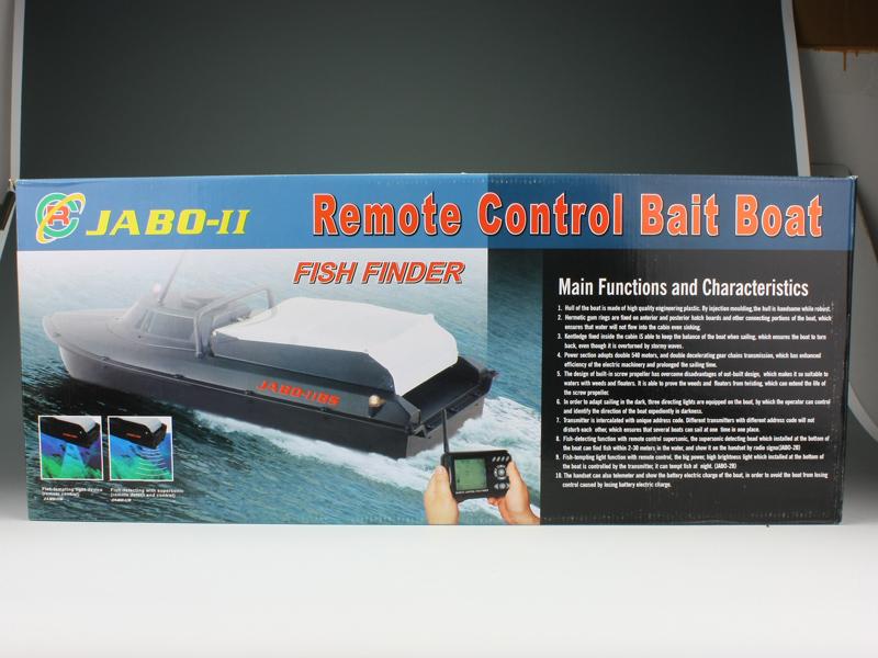 радиоуправляемый катер для рыбалки jabo-2bl