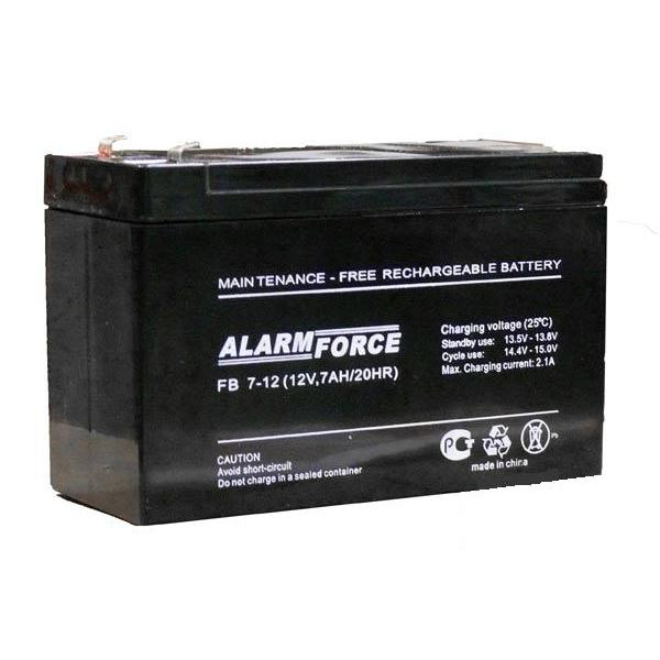 Аккумулятор  ALARM FORCE FB 12V,7Ah DMD-G55 акк