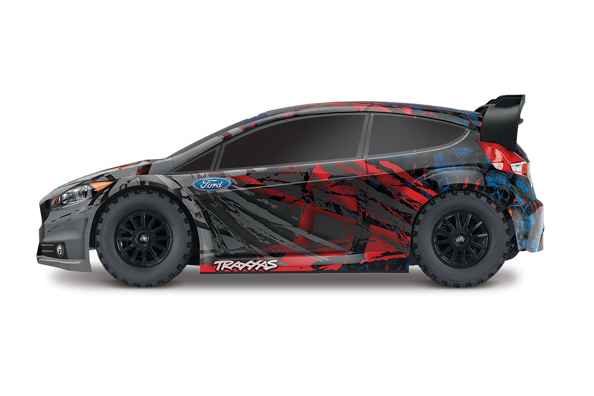 Радиоуправляемая машина TRAXXAS Rally Ford Fiesta ST 1/10 4WD TRA74054-4