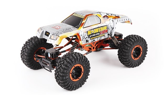 Краулер 1:10 Remo Hobby Rock Crawler Mountain Lion Xtreme 4WD 2.4Ghz RTR (влагозащита) RH1072