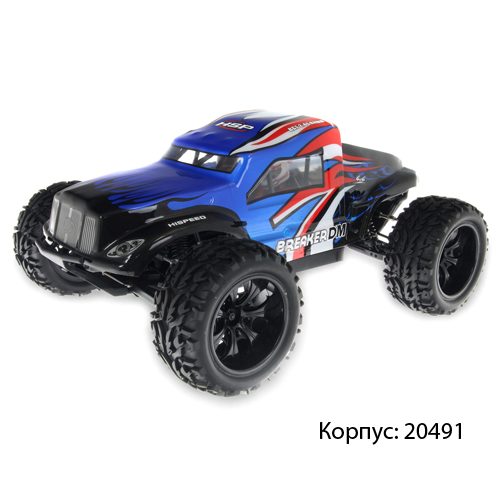 Внедорожник HSP Monster Sand Rail Truck 4WD 1:10 2.4G 94204
