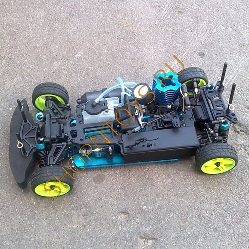 HSP Nitro Car XSTR POWER 4WD 1:10 - 2.4G 94122