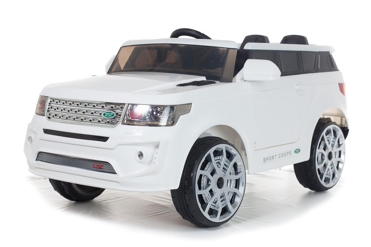 Детский электромобиль toyland toyota tundra черный