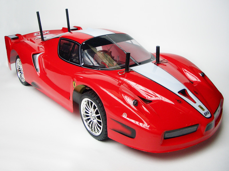 1:10 On-road Racing car 4WD, Brushed, RTR REC-0004-01 (R02261)