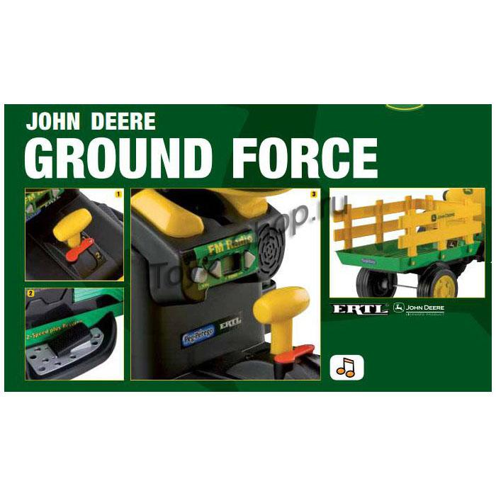 Детский электромобиль Peg Perego John Deere Ground Force. IGOR0047 IGOR0047