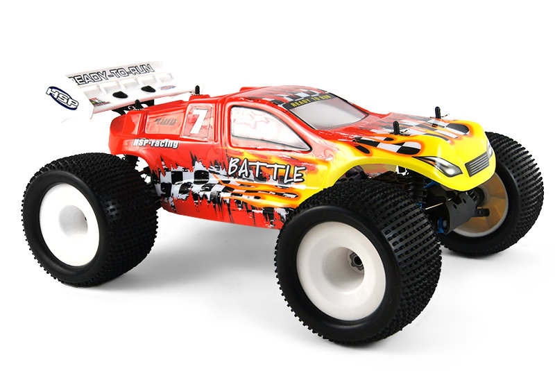 HSP BATTLE Nitro Off Road Truggy 4WD 1:8 2.4G 94761