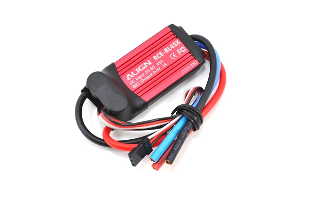 Align 45A RCE-BL45X Brushless ESC (Governor Mode) HES45X01T