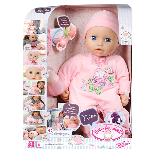 Кукла Zapf Creation Baby Annabell 794-821