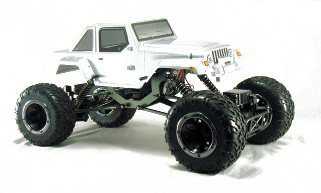 Краулер HSP Pangolin Electric Off-Road Long 4WD 1:10 (2.4G) 94180L