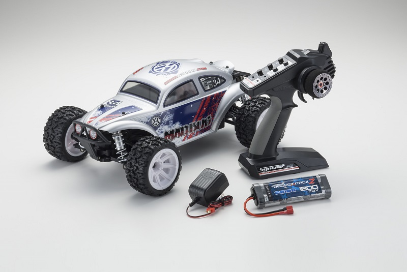 KYOSHO 1/10 EP 4WD Mad Bug VEi T3 RTR 45251