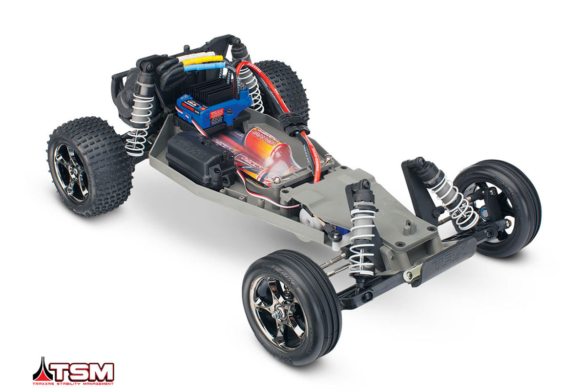 TRAXXAS Bandit VXL 1/10 2WD TQi Ready to Bluetooth Fast Charger TSM 45410