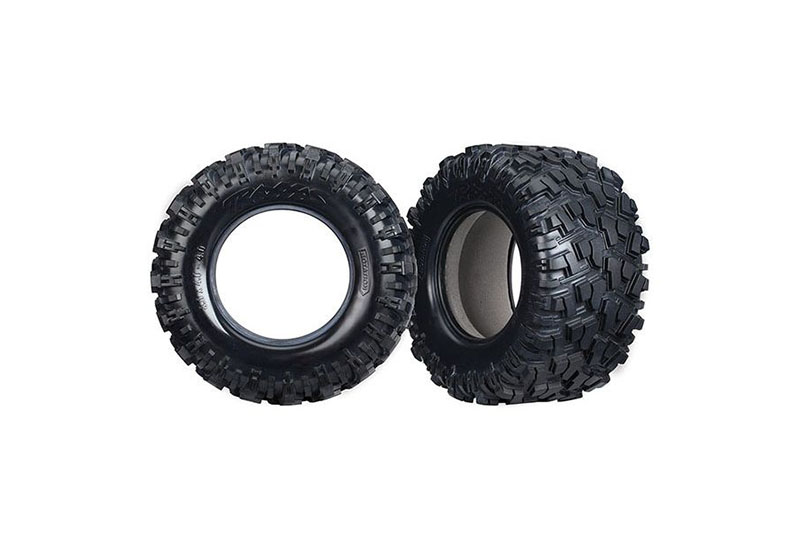 Tires, Maxx AT (left & right) (2)/ foam inserts (2) TRA7770