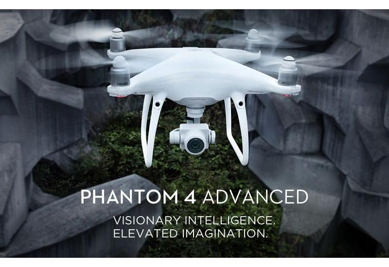 Квадрокоптер - Phantom 4 Advanced DJI-Phantom4-Advanced