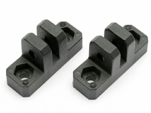 ANTI-BENDING PLATE HOLDER (2PCS) (LIGHTNING STADIUM) HPI-HBC8151