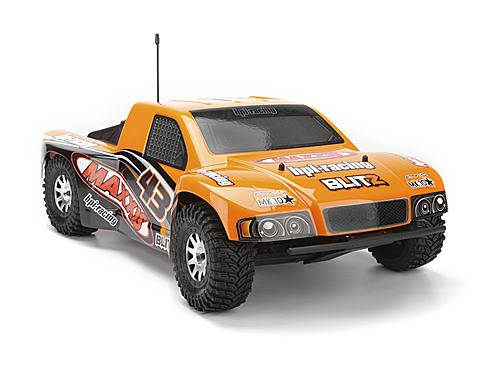 Кузов 1/10 SC - MAXXIS ATTK-10 (ORANGE/BLACK) окрашен HPI-103416