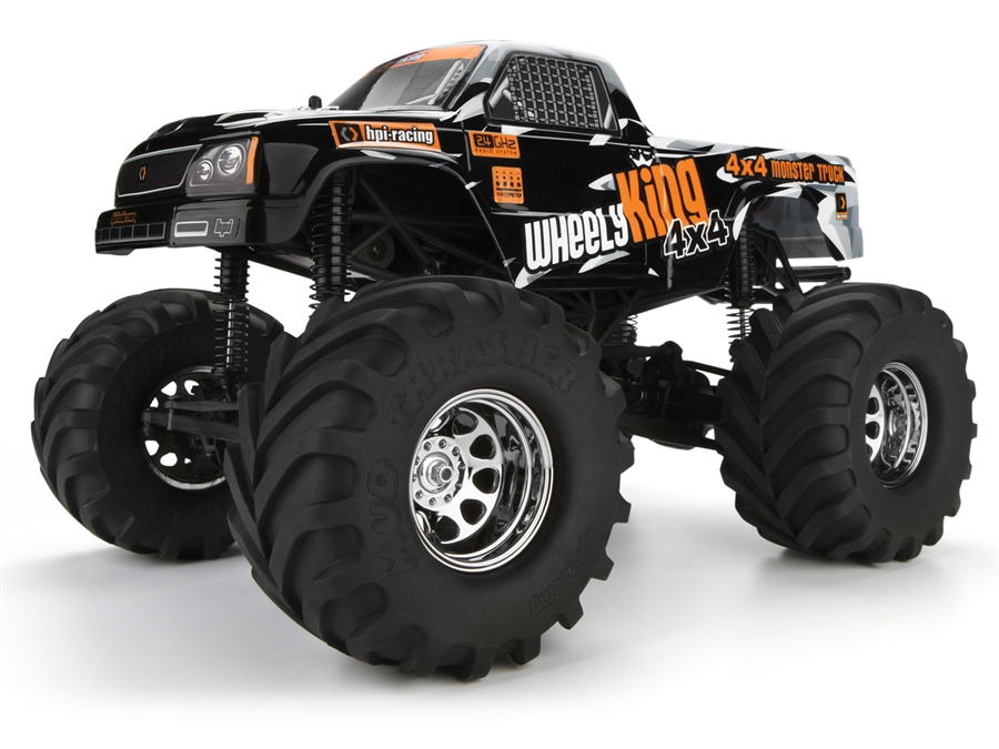 Монстр электро - RTR WHEELY KING 4X4 (NEW) HPI-106173