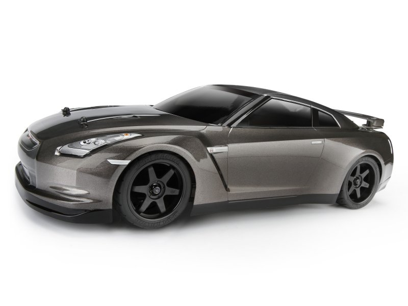 Кузов 1/10 - NISSAN GT-R (R35) (DARK METAL GRAY/200мм) HPI-106983