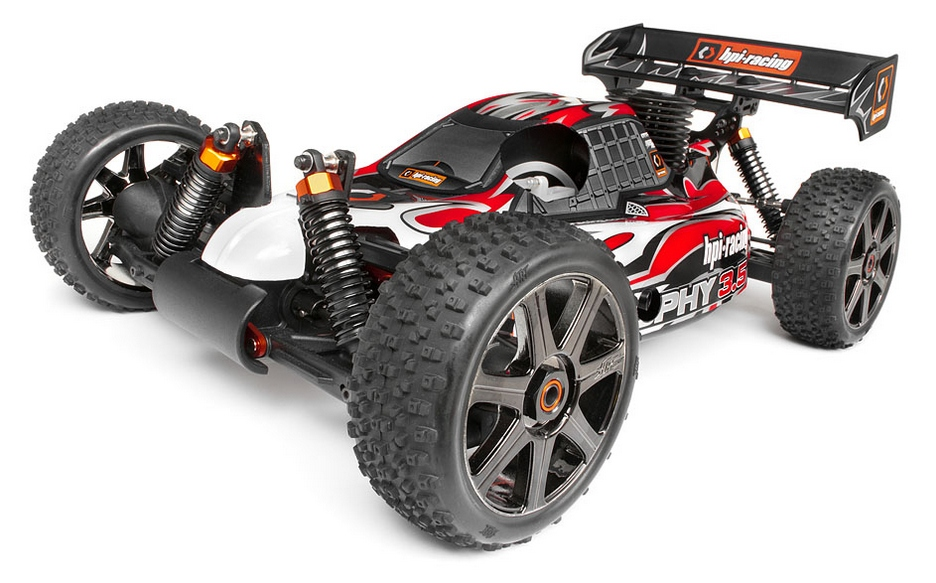 Багги 1/8 нитро - Trophy 3.5 Buggy RTR 2.4GHz HPI-107012
