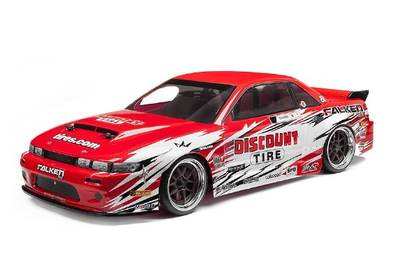 Туринг 1/10 - NITRO 3 DRIFT DISCOUNT TIRE/NISSAN S-13 (NEW) HPI-112587