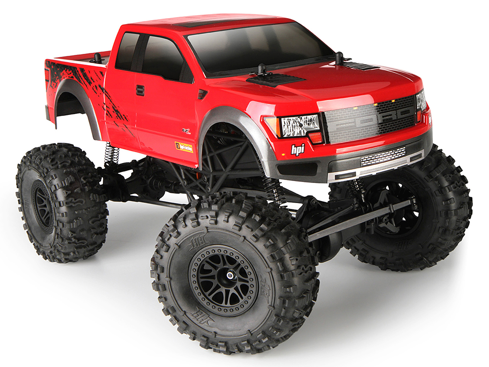 Краулер HPI KING RTR WITH FORD F-150 SVT RAPTOR BODY HPI-115118