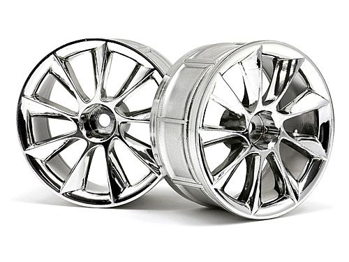 Диски 1/10 - LP29  ATG RS8 CHROME (2шт) HPI-33462