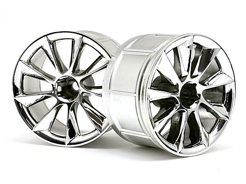 Диски туринг 1/10 - LP35 ATG RS8 CHROME (2шт) HPI-33464