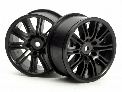 Диски туринг 1/10 - 10 SPOKE MOTOR SPORT 26MM BLACK (2шт) HPI-3771