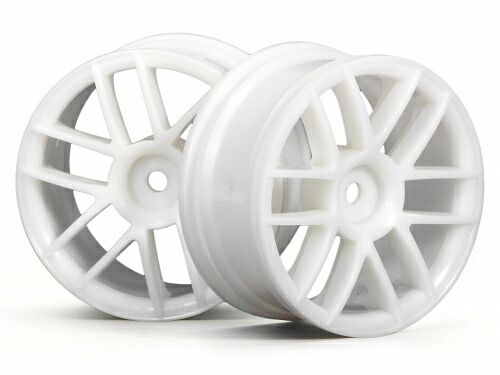 Диски туринг 1/10 - SPLIT 6 WHEEL 26MM WHITE (2шт) HPI-3795