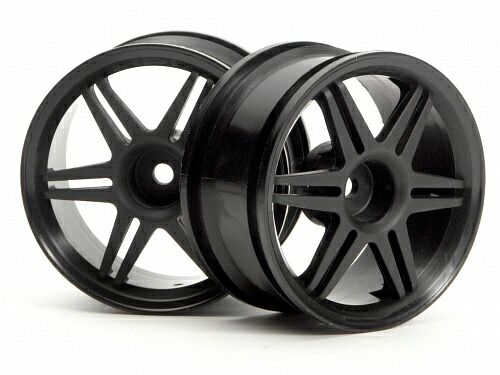 Диски 1/10 - 12 SPOKE CORSA BLACK 26MM (3MM OFFSET) 2шт HPI-3801