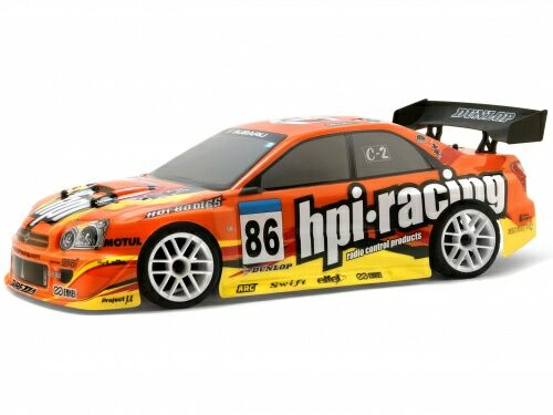 Кузов 1/10 - HPI RACING IMPREZA (190MM/wb 255MM) - крашеный HPI-7712