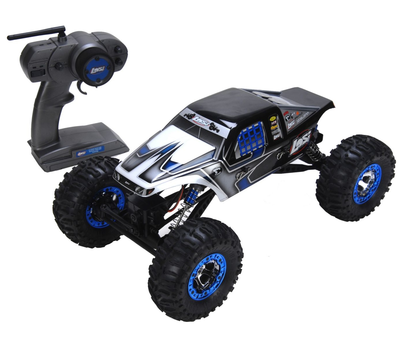 Краулер 1/10 -  Night Crawler RTR: Черный LOSB0104T1