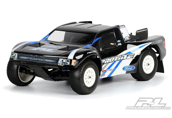 Кузов шорт 1/10 - Ford F-150 SVT Raptor (for Slash, Slash 4x4 and SC10) некрашеный PL3344-00