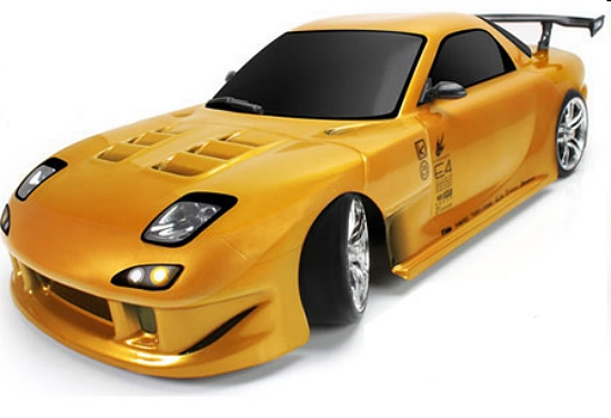 Дрифт 1/10 электро - E4D MF RX7 RTR TM-503017-RX7