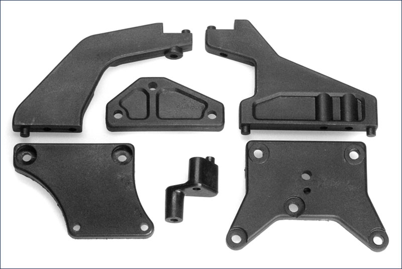 KYOSHO запчасти Upper Plate Set(DBX/DST) TR105