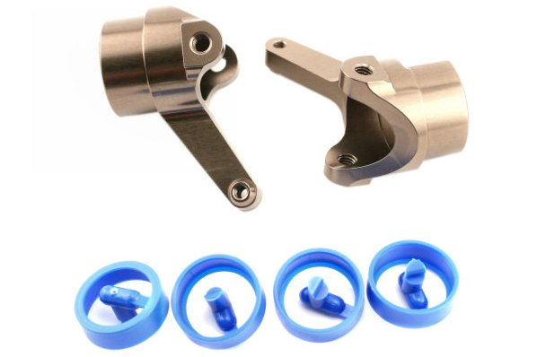 KYOSHO запчасти Aluminum Knuckle Arm(L,R With Bush) IFW332