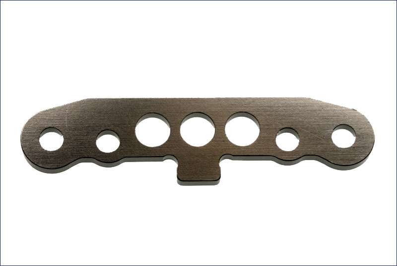 KYOSHO запчасти Front Lower Sus Plate(Gun Metallic) IFW127