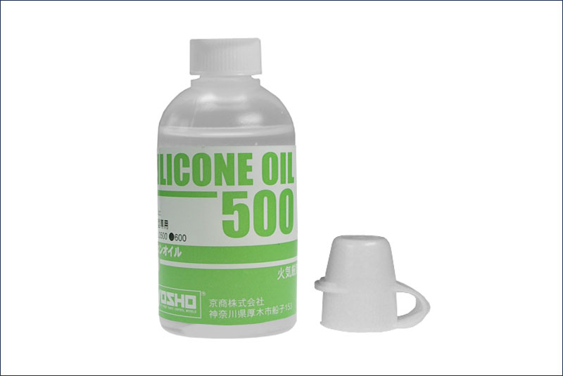 KYOSHO запчасти Silicone OIL #500 (40cc) SIL0500