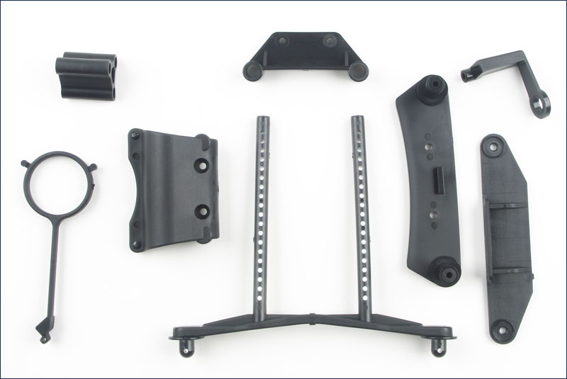 KYOSHO запчасти Bumper Set (DRX) TR152