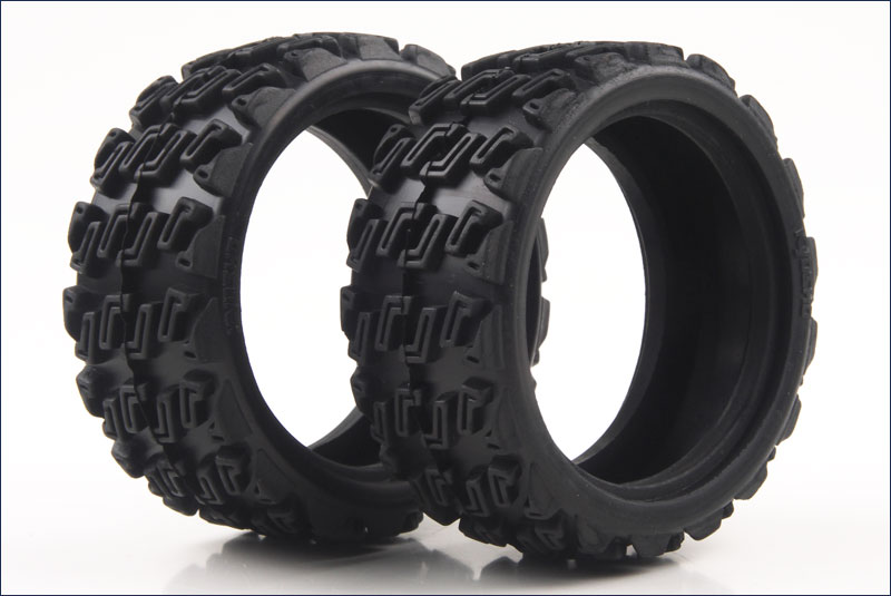 KYOSHO запчасти Rally Block Tire (2pcs/FAZER Rally) FAT101