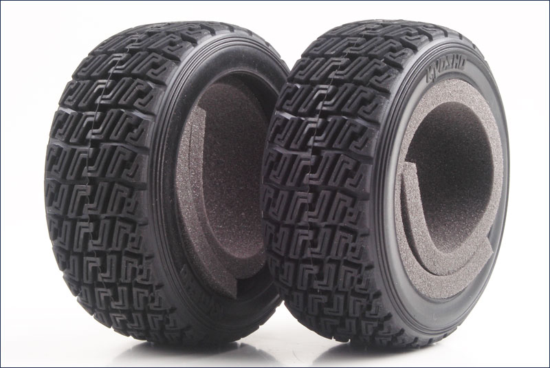 KYOSHO запчасти High Grip Rally Tire(With Inner/2pcs/DRX TRT122