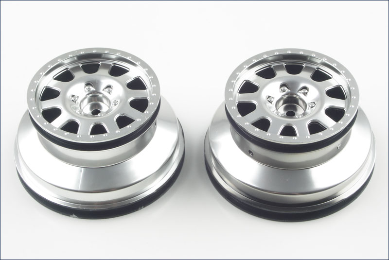 KYOSHO запчасти Wheel (Silver/2pcs/ULTIMA SC) UMH601S