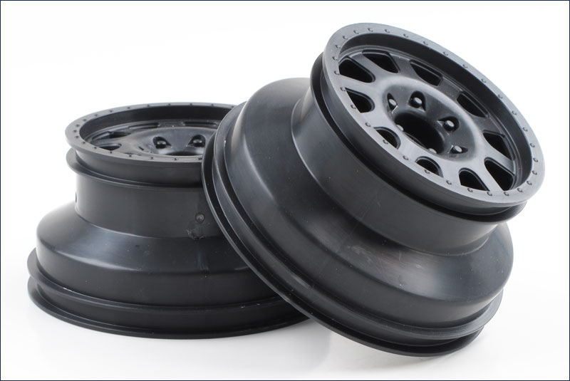 KYOSHO запчасти Wheel (Black/2pcs/ULTIMA SC) UMH601BK