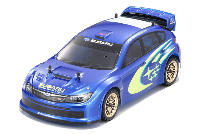 KYOSHO запчасти Completed Body (SUBARU WR Car CONCEPT) FAB101