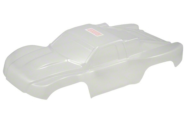 TRAXXAS запчасти Body, Slash 4X4 (clear, untrimmed, requires painting)/ window masks/ decal sheet TRA6811