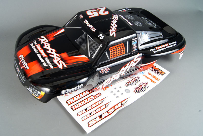 TRAXXAS запчасти Body, Slash/Slash 4X4/Slayer, Mark Jenkins #25 (painted, decals applied)  TRA5825