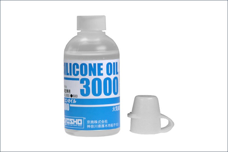 KYOSHO запчасти Silicone Oil #3000 (40cc) SIL3000