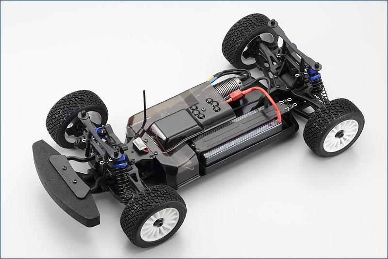 KYOSHO 1/9 EP 4WD DRX 2010 Ford Fiesta RTR 30881B