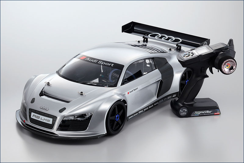 KYOSHO 1/8 EP 4WD Inferno GT2 RS Audi R8 RTR 30935B