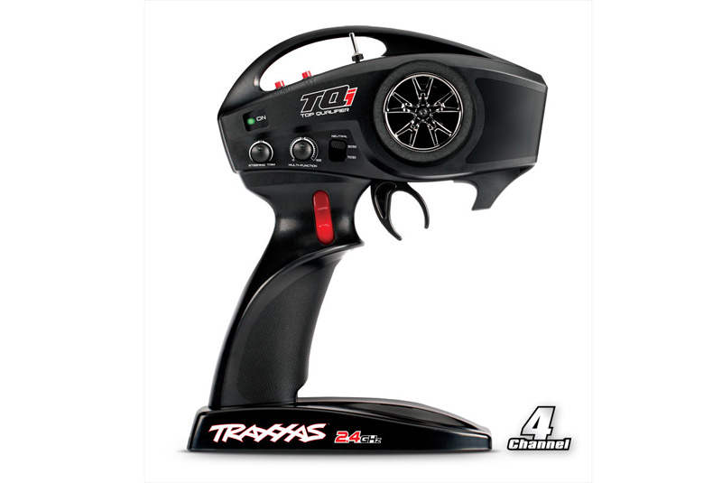 TRAXXAS запчасти TQi 2.4 GHz High Output radio system, 4-channel (4-ch. transmitter  5-ch. receiver) TRA6508